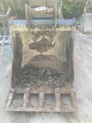 Digbits Digging Bucket for 13T Excavator Approx. 900mm