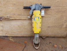 Atlas Copco R Tex Pneumatic Breaker c/w Point and Chisel