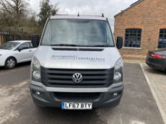 2017 Volkswagen Crafter CR35 TDI Bmt Dropside Tipper