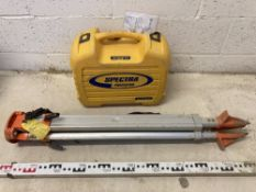 Spectra LL300N Laser Level with Tripod and 5m Staff