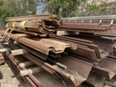Large Quantity of Assorted Trench Sheets