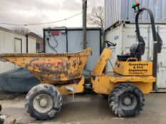 2007 Thwaites 3T 4x4 Power Swivel Dumper