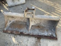 Unbranded Grading Bucket for 8T Excavator Approx. 1500mm