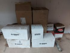 Assortment of Bomag Genuine Parts and Consumables