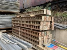 Approx. (40) Strongback Shoring Beam Components