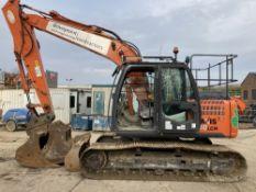 2012 Hitachi ZX130LCN-3 Hydraulic Excavator