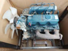 Kubota D1803-M-EU36 Engine with Transportation Rack