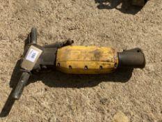 Atlas Copco Tex 280PE Pneumatic Gun Breaker c/w Point and Chisel