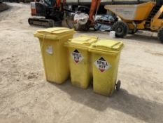 (3) Spill Kit Bins with Contents