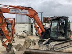 2015 Hitachi ZX85USB-5A Midi Excavator