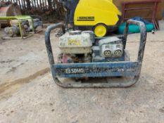 SDMO HX3000 TB UK Petrol Generator, Honda GX200 Petrol Engine