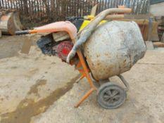 Belle Mini-mix Cement Mixer, Honda GX120 Petrol Engine