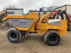 2018 Thwaites 9T forward tip 4X4 Dumper