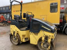 2013 Bomag BW120AD-5 Tandem Vibration Roller