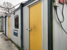Portakabin PK282 Jackleg Office including Contents and Air Conditioning Units