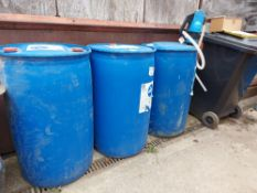 (3) Yara AdBlue 210Ltr Drum with Contents