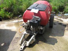 Taskman diesel powered towable pressure washer