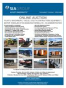 Plant & Machinery, Tools, Utility Contractors Equipment, Motor Vehicles & More