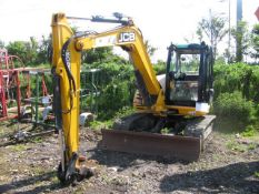 JCB 8085 ZTS rubber tracked excavator