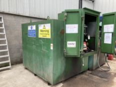 Approximately 5,000ltr fuel tank with Piusu MC pump