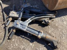 (3) Hydraulic Guns suitable for Hydraulic Breaker Packs
