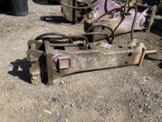 Prodem 5t Hydraulic Breaker & Point