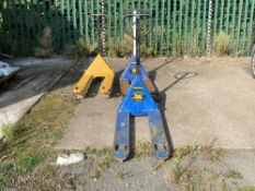(3) Unbranded Out Of Use Pallet Trucks