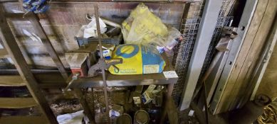 Workbench with Vice and Contents