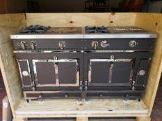La Cornue Le Chateau 150 Carbon Edition range oven