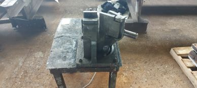 Manual Piper Bender with Bench