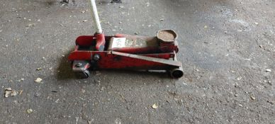 Two Tonne Mobile Trolley Vehicle Jack