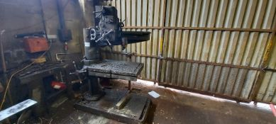 Fred Town and Sons Radial Arm Drill