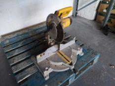 Dewalt DW705 Compound Mitre Saw
