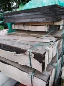 (14) Sheets of Wood Flooring