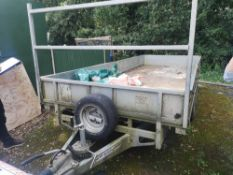Ifor Williams 3 Axle Dropside Trailer Type: LM166G3