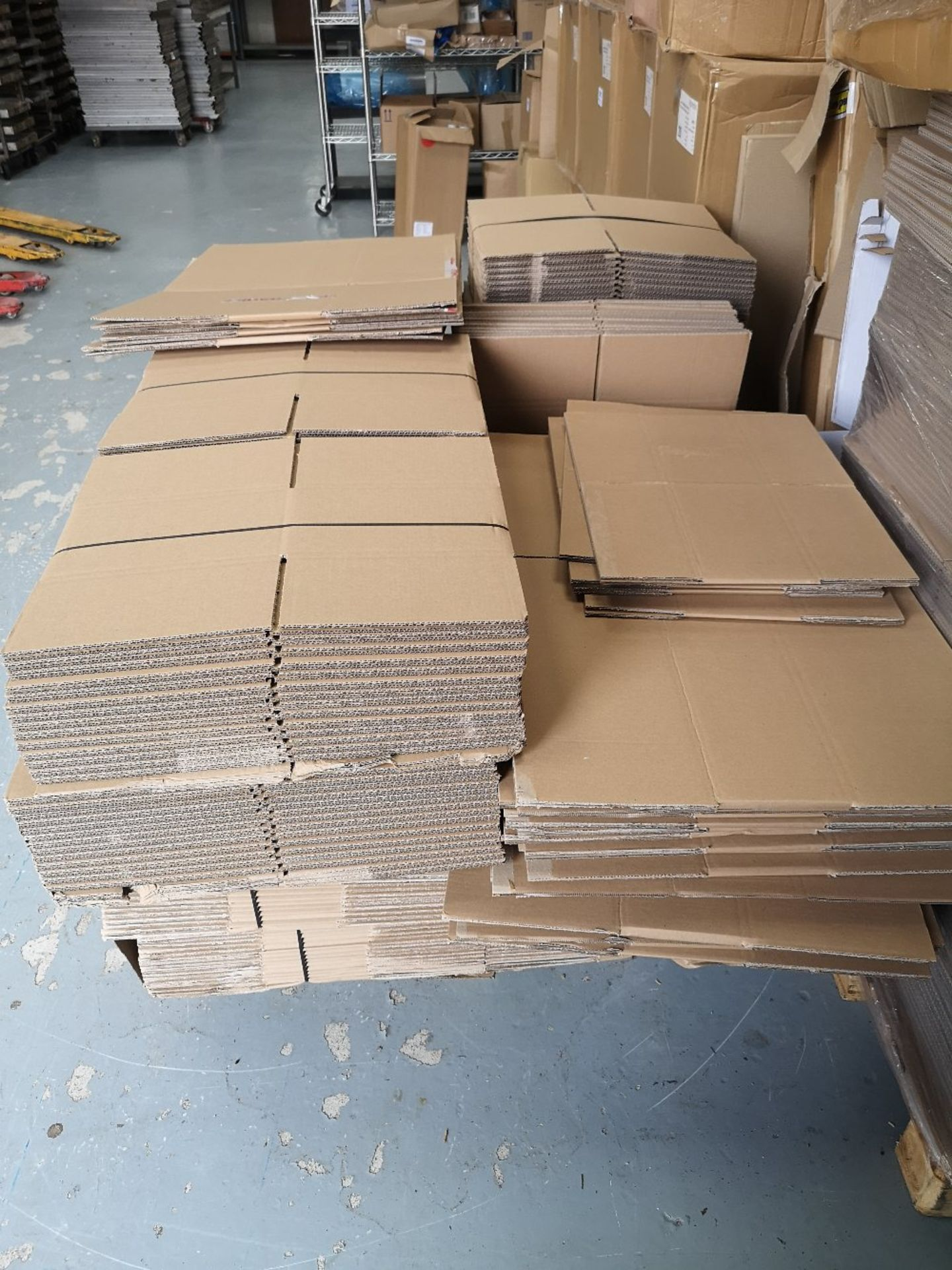 (2) Pallets of Various Sized Cardboard Boxes - Image 5 of 5