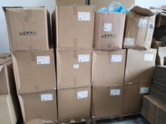 (2) Pallets of Various Plastic Food Containers