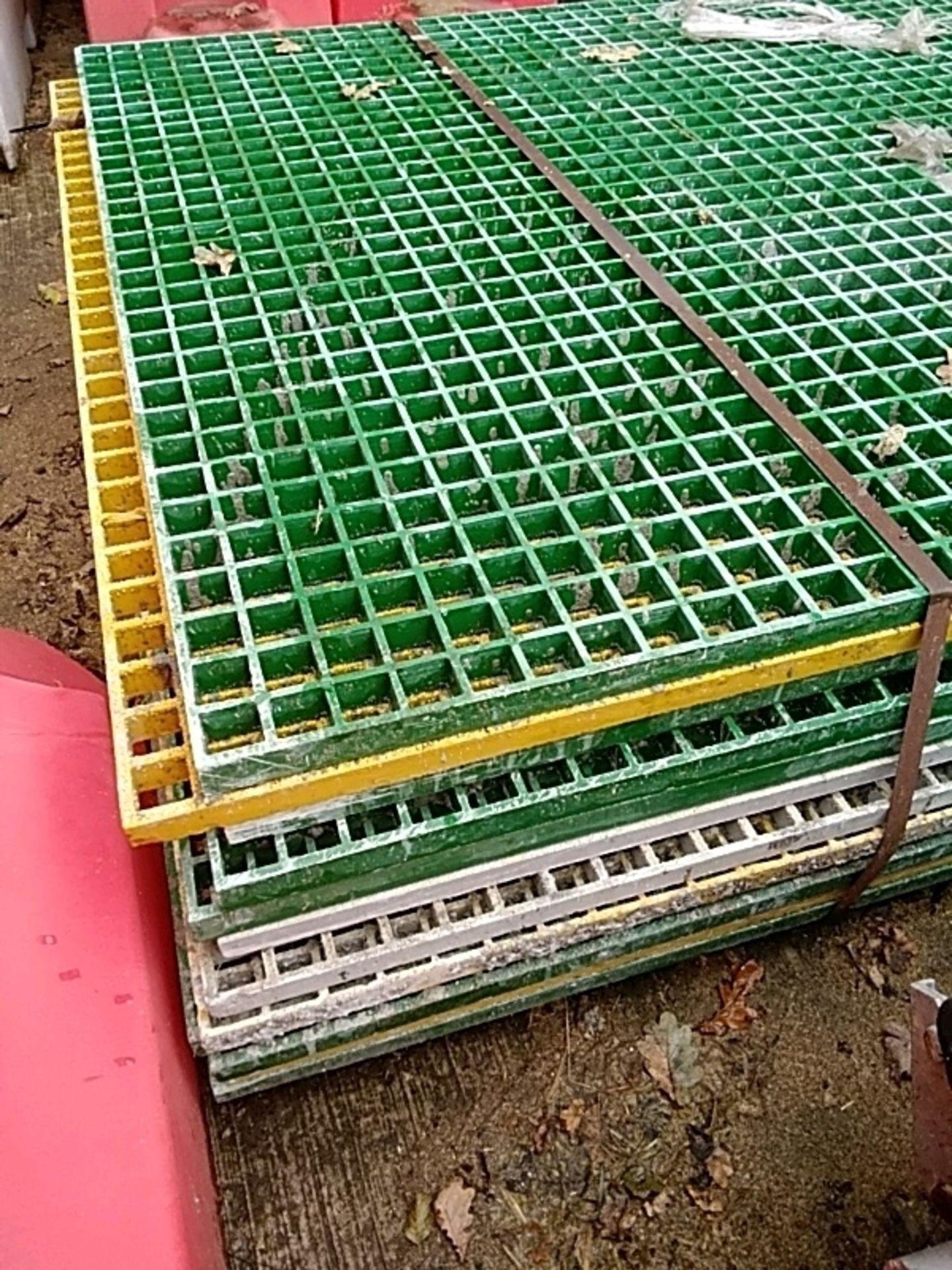 (12) Plastic Drainage Mat - Image 3 of 3
