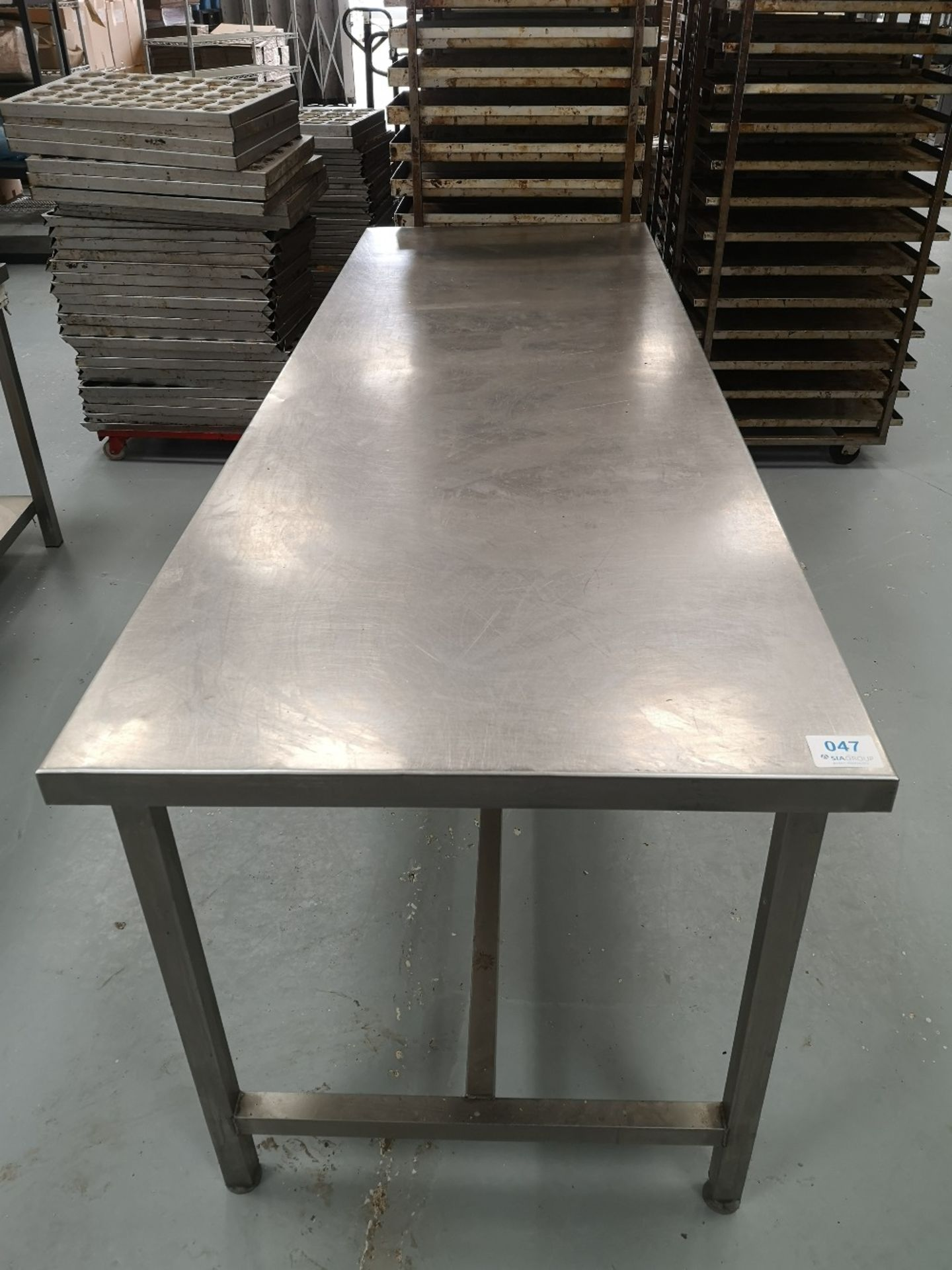 Stainless Steel Preparation Table - Image 3 of 3