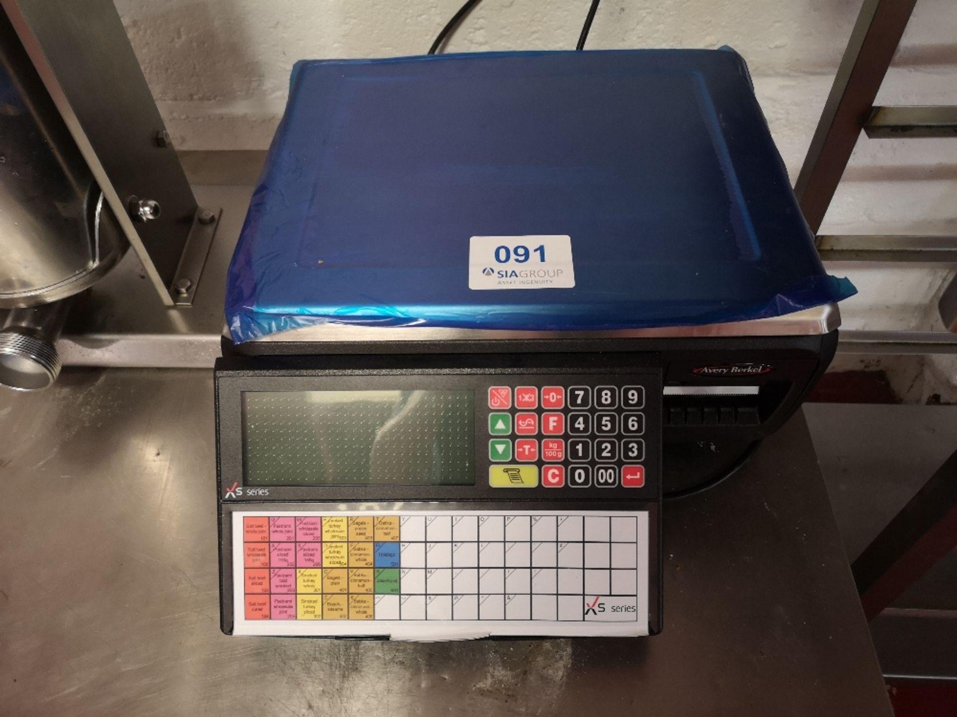 Avery Berkel XS100 Label & Receipt Printing Scale