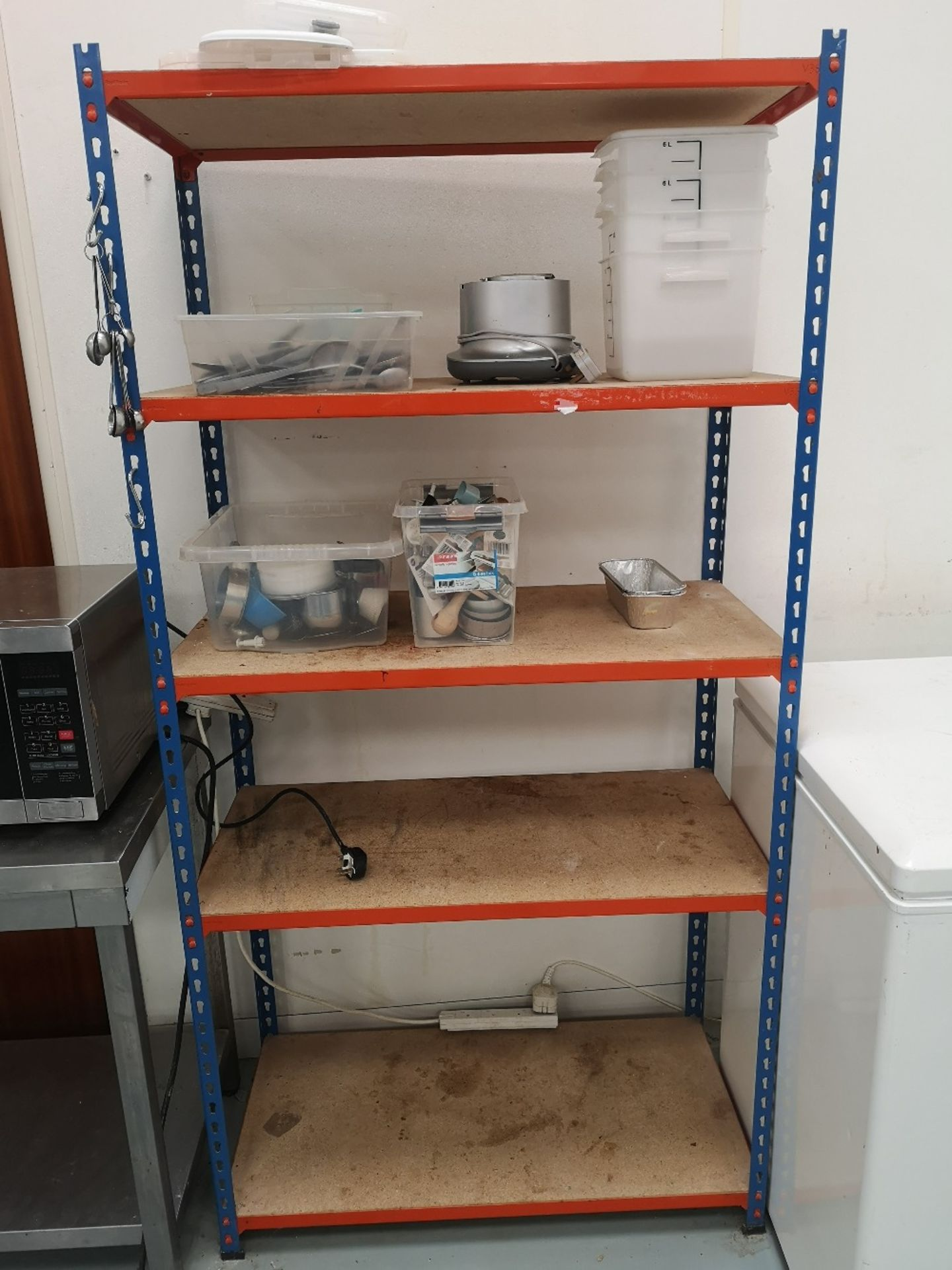 (3) Bays of Five Tier Shelving & Contents - Image 2 of 10