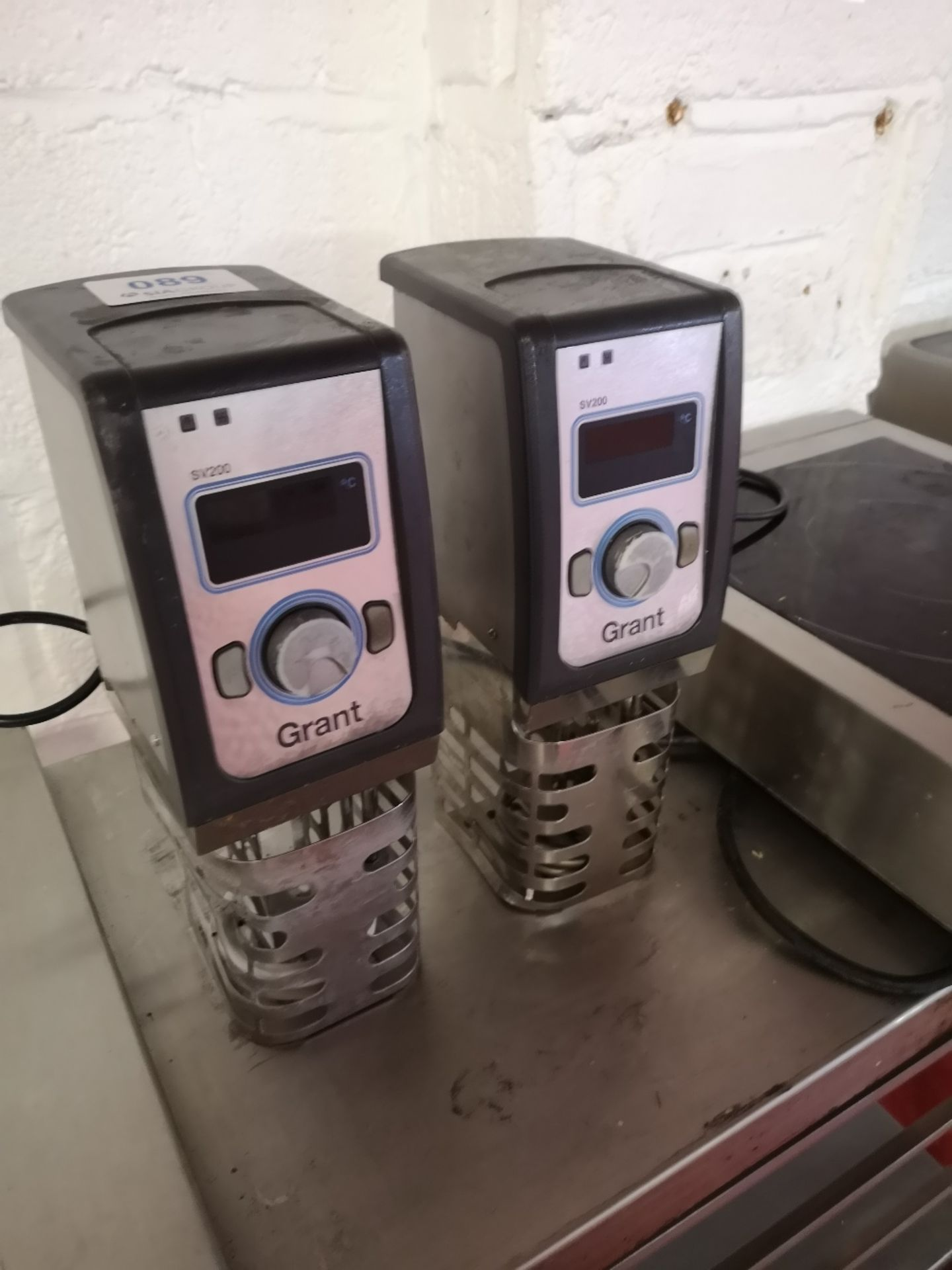 (2) Grant Instruments SV200 Portable Sous Vide Immersion Circulators - Image 3 of 5