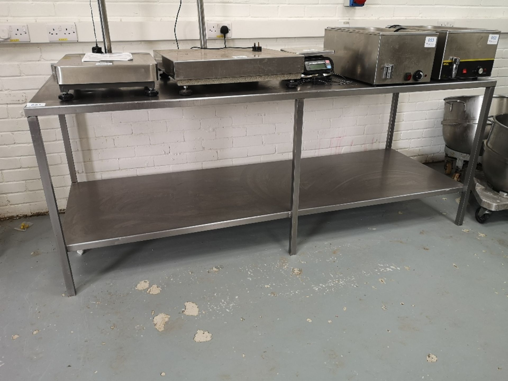 Stainless Steel Two Tier Preparation Table - Image 2 of 2