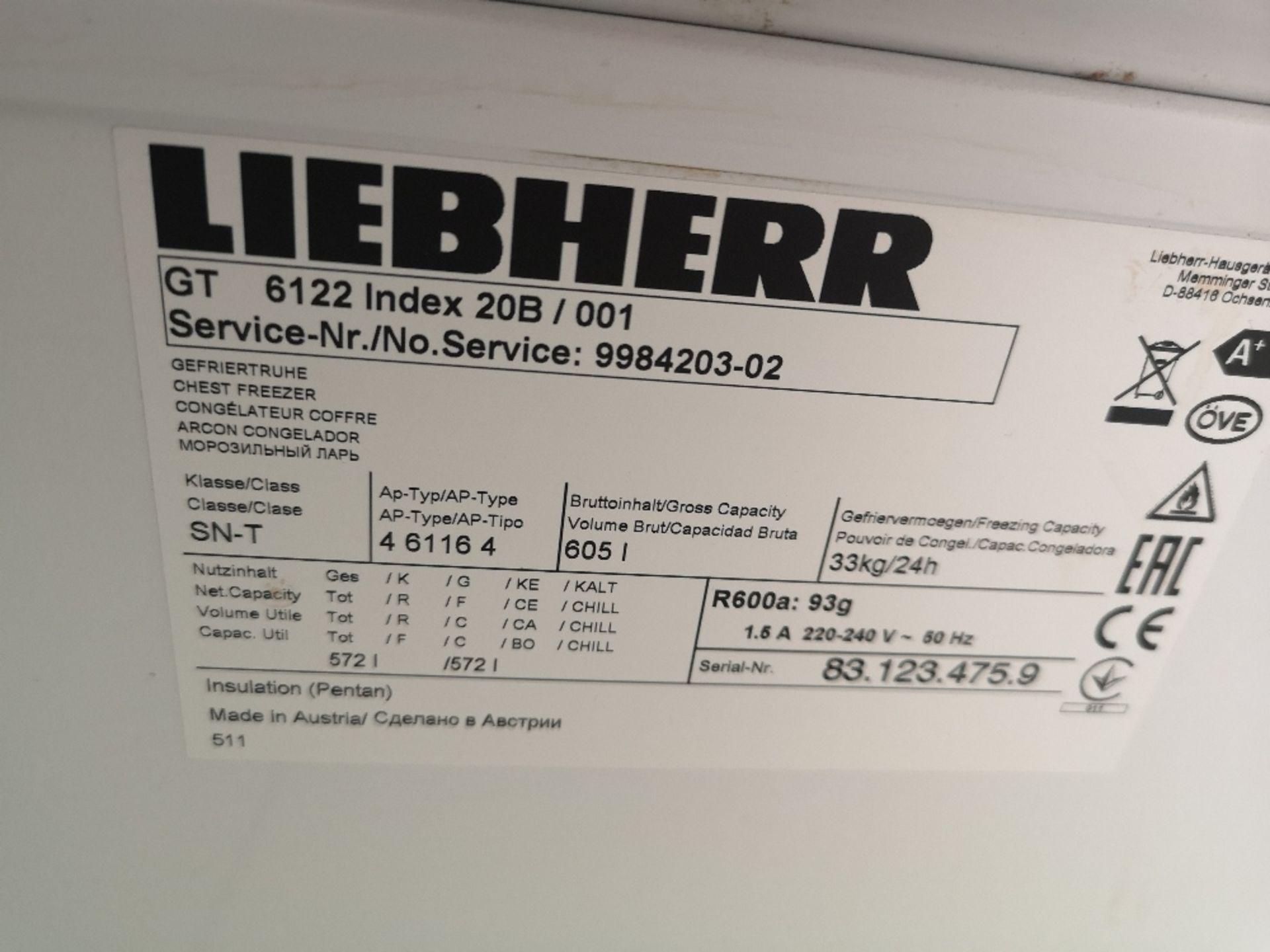 Liebherr GT 6122 Comfort Chest Freezer - Image 3 of 3