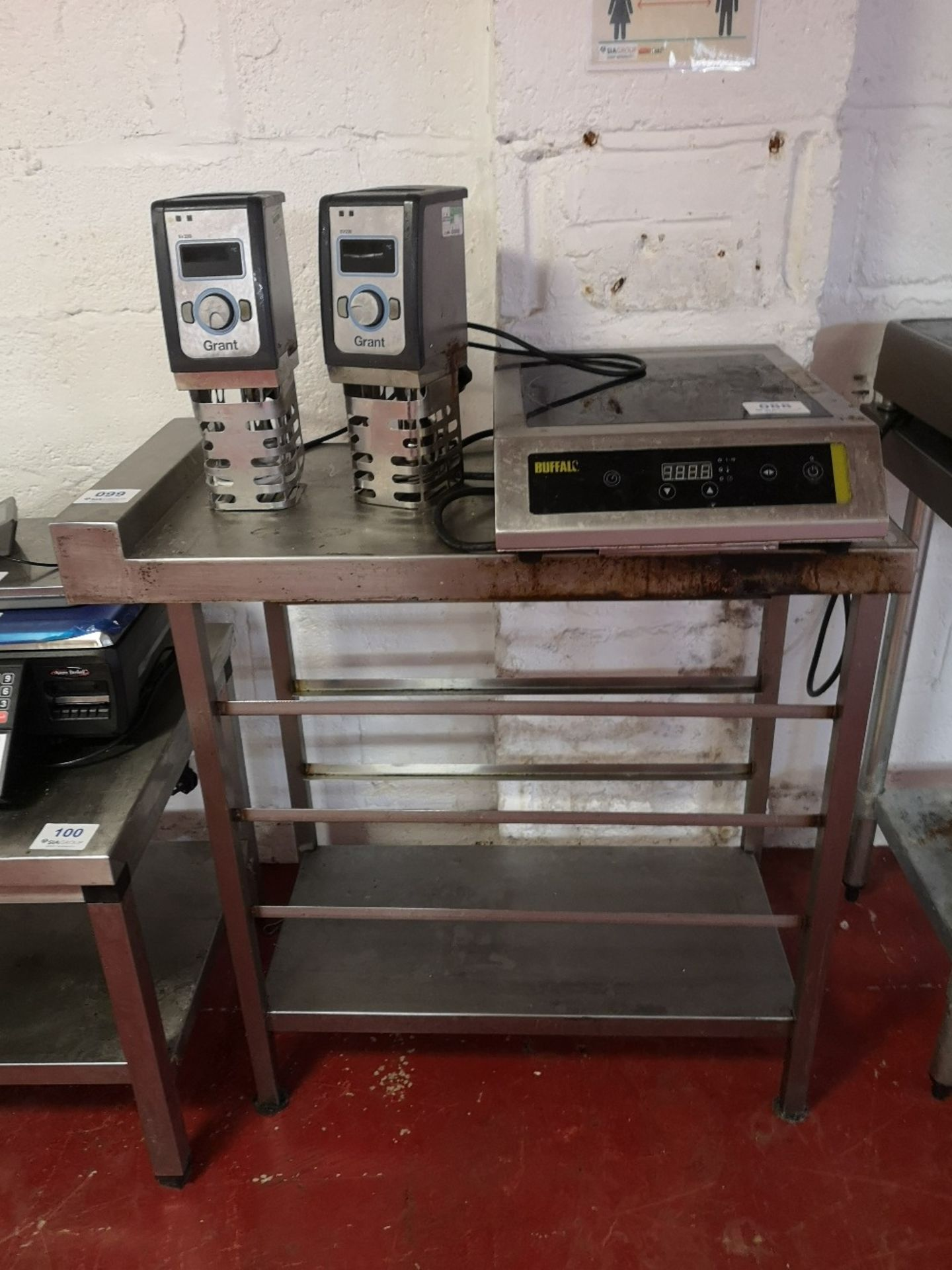 Stainless Steel 450mm In-Fill Table
