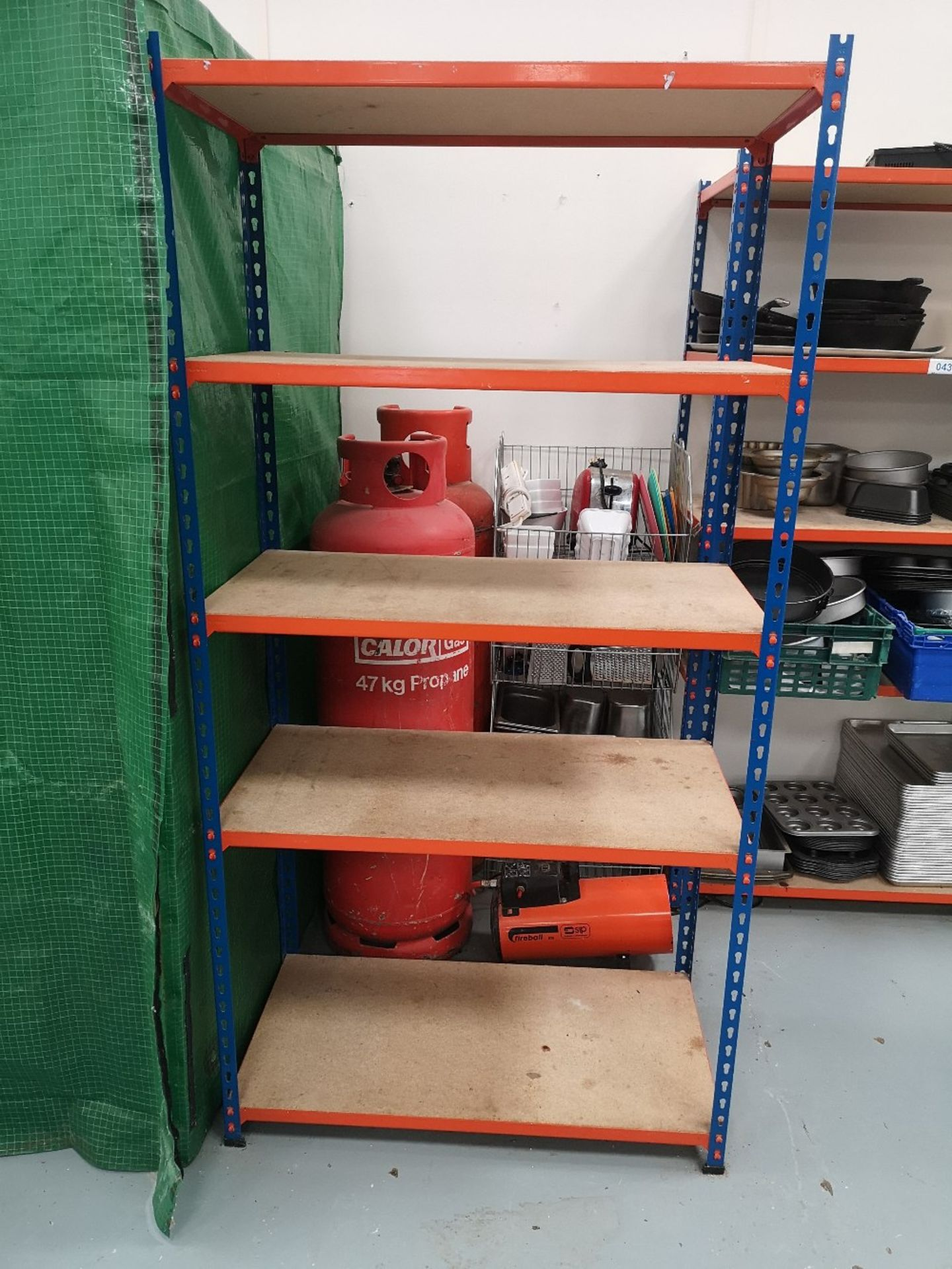 (3) Bays of Five Tier Shelving & Contents - Image 3 of 10