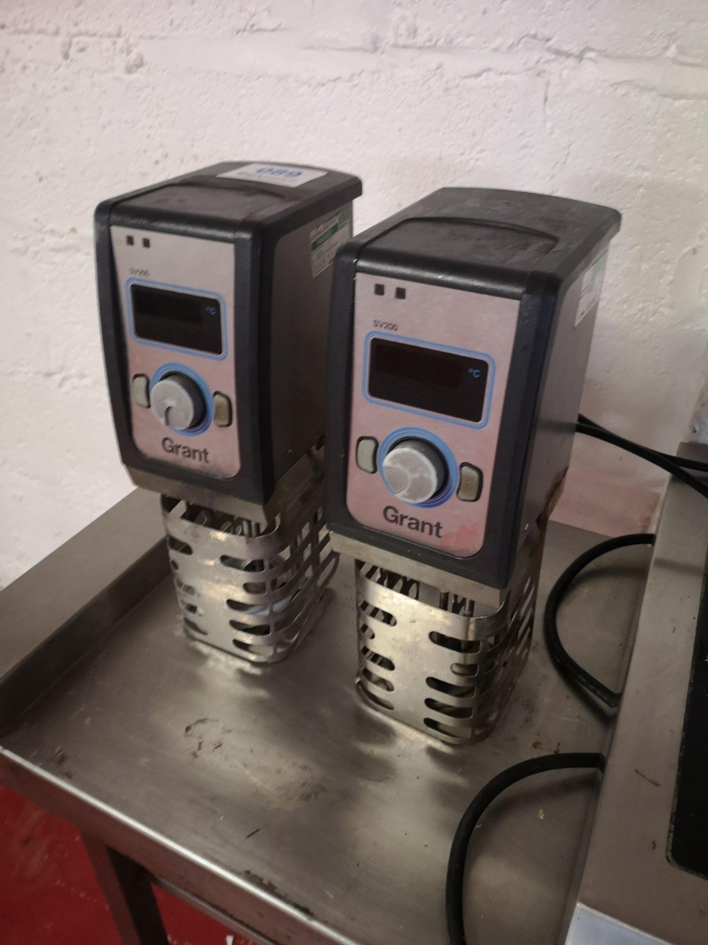 (2) Grant Instruments SV200 Portable Sous Vide Immersion Circulators - Image 2 of 5
