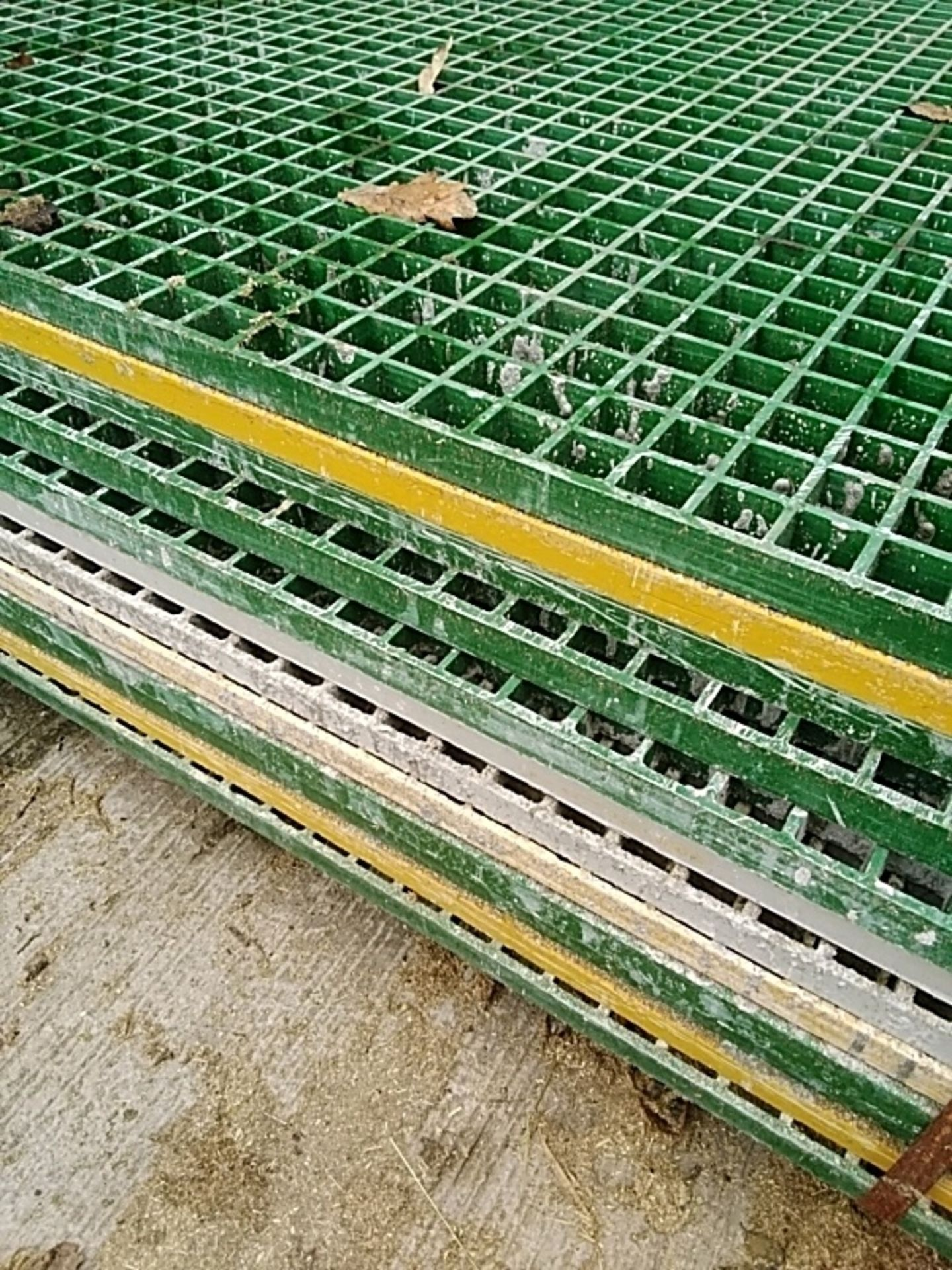 (12) Plastic Drainage Mat - Image 2 of 3
