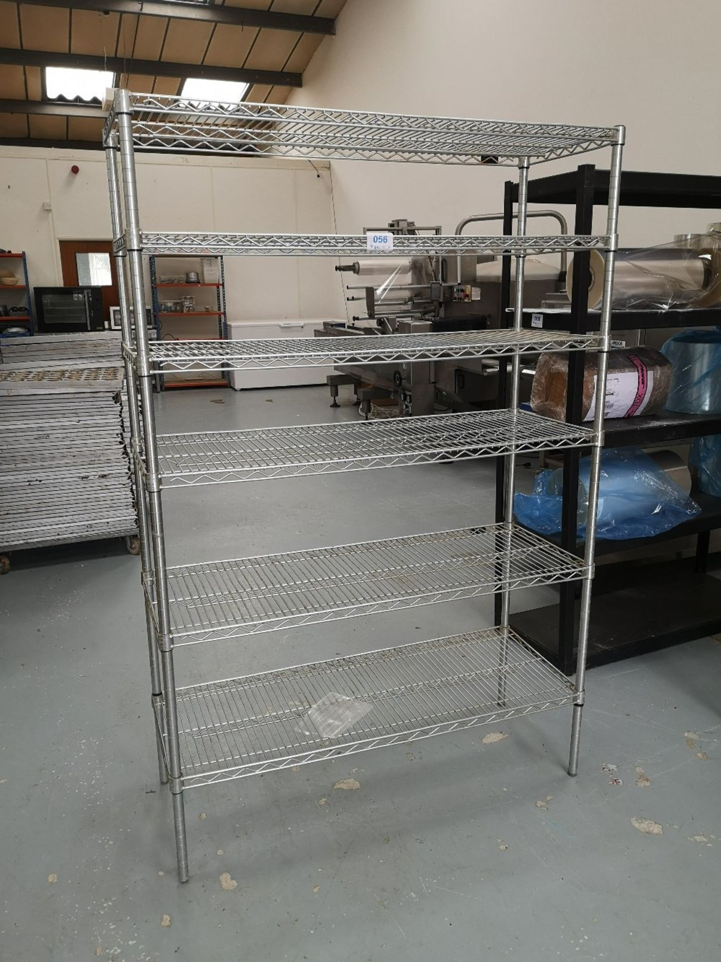 Chrome Wire Five Tier Rack - Image 2 of 2