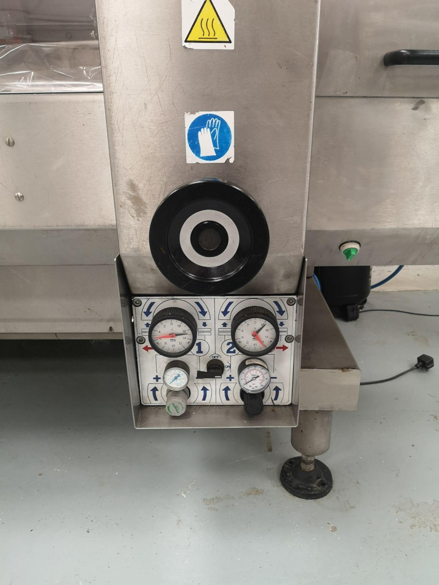 Record Jaguar MD NG flow wrapper with Videojet Dataflex & Airmate Hurricane V215/25 compressor - Image 13 of 15